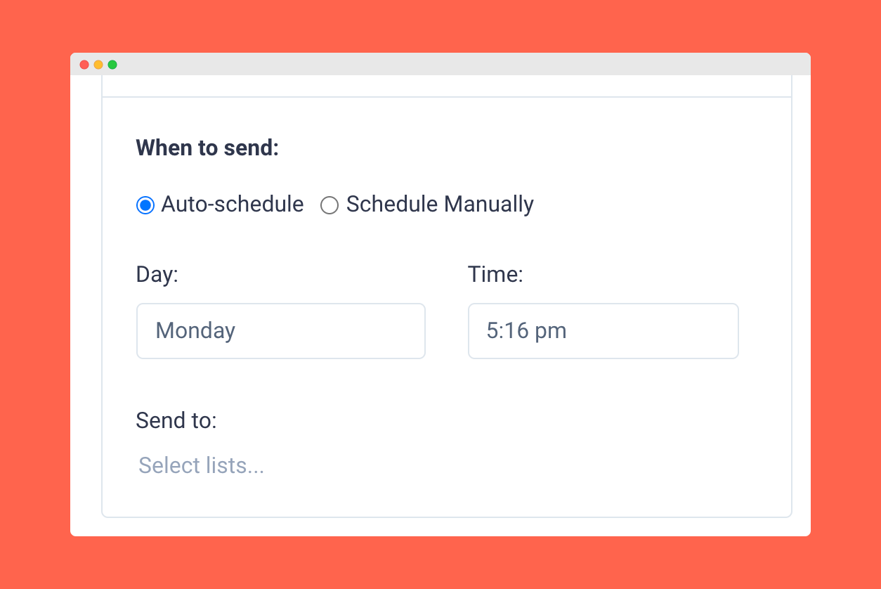 Feature Updates - Auto-schedule Smart Campaigns
