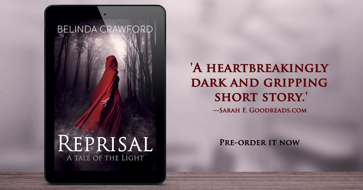 'A heartbreakingly dark and gripping short story.' Review from Sarah F on Goodreads.com. Pre-order Reprisal now.