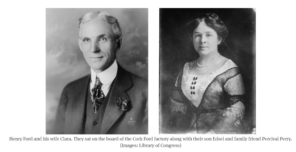 The most unique facts about Cork are that Henry Ford built the first ever factory in Co Cork outside of the US